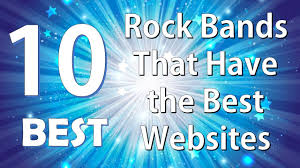top best rock bands that have the best websites top 10 best rock bands that have the best websites