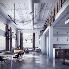 Designs by Style: Very Industrial Loft - Loft Design