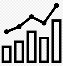 Png Black And White Stock Combo Chart Icon Free Download