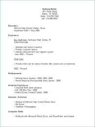 Resume Examples For New Graduates New New Grad Resume Examples