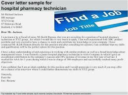Cover Letter For Pharmacy Technician Gallery Dental Technician Cover