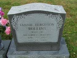 Fannie Ferguson Rollins (1922-2000) - Find A Grave Memorial