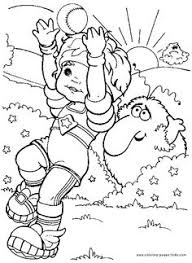 rainbow bright coloring page 25 coloring page for kids and s from cartoons coloring pages rainbow brite coloring pages