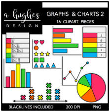 Graphs Charts 2 Clipart A Hughes Design