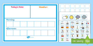 Daily Time Table Daily Visual Timetable Display Poster Daily Visual