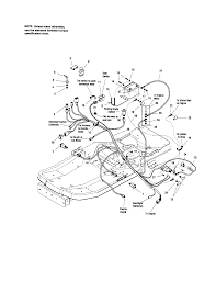 Craftsman model 107289860 lawn riding mower rear engine genuine parts rh searspartsdirect craftsman lt4000 wiring diagram 1 4 hp craftsman ii wiring