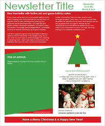 free holiday newsletter template free christmas newsletter templates download free holiday newsletter