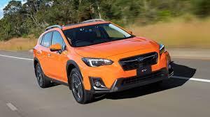 2018 subaru crosstrek orange. beautiful orange 2018 subaru xv first drive review safety and style are the focus for this  compact new suv to subaru crosstrek orange