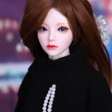 details about 1 4 bjd doll mari resin with free face make up free eyes b type