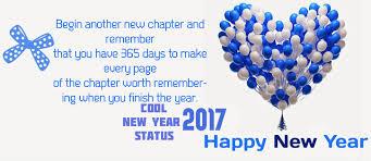 Happy New Year 2017 Quotes Extraordinary Interesting And Cool New Year Status 48 New Year Status 48