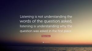 Image result for listening quotes