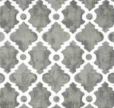 Small Picture Gray Lattice Fabric Geometric Home Decor Fabric by the Yard