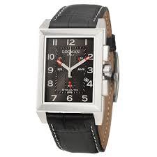 locman watches jomashop locman stealth r chronograph black dial black leather men s watch lo