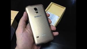 Samsung GALAXY S5 mini DUOS gold color ...