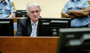 Image result for radovan karadzic osudjen na 40 godina zatvora fotos