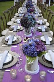 Party Table Decor 37 Beautiful Purple Party Decorations