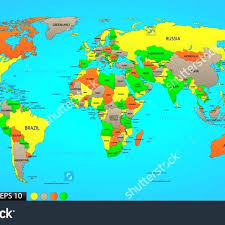 High Quality World Map 20 Clearly Defined High Resolution World Map Physical