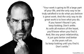 Steve Jobs Quotes On Life Impressive 48 Most Inspirational Quotes By Steve Jobs TwistedSifter