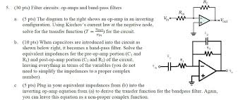 filter circuits op amps and band pass filters th