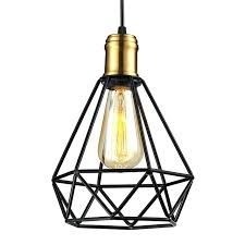 cage light ikea wrought iron chandeliers pendant lamps living room industrial classic home metal cage led cage light ikea