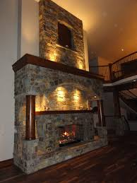 bold design custom fireplace designs 21 furniture cool neutral stone masonry design with sweet tile lighting
