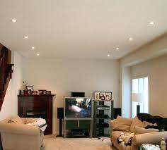 recessed lighting living room ceiling in simple