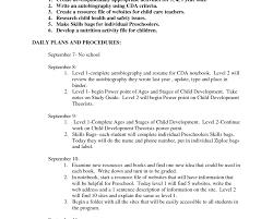 Toddler Teacher Resume Customer Service Resume Objective Blank