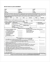 8+ Sample Commercial Lease Agreements   Sample Templates