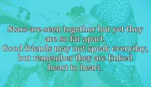 Long Distance Friendship Quotes Magnificent Quotes About Apart Friends 48 Quotes