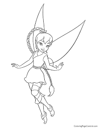 Small Picture Tinkerbell Fawn 01 Coloring Page Coloring Page Central