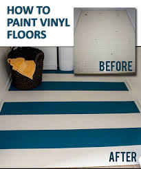 Can you paint vinyl flooring and why should you paint it?