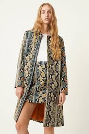 Buy French Connection Animal Ailda PU <b>Faux</b> Snake <b>Mac</b> from the ...