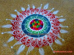 Diwali Rangoli Designs Sanskar Bharti Pin By Rajashree Mahagaonkar On Rangoli Colorful Rangoli