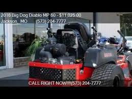 big dog diablo. 2016 big dog diablo mp 60 for sale in jackson, mo 63755 at