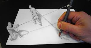 great collection of 3d pencil drawings