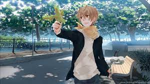 Anime Boy Nature HD Desktop Backgrounds ...