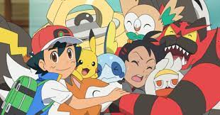 Watch: Pokemon Journeys Reunites Ash with His Alolan Team