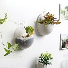 1pcs plastic wall mounted flower pot