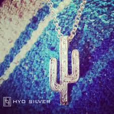 sonora cactus pendant collection by hyo silver inside necklace