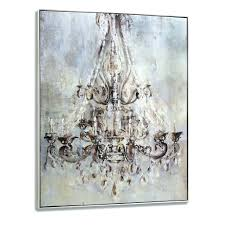 chandelier canvas wall art in most cur wall arts monsoon fl metallic wall art canvas