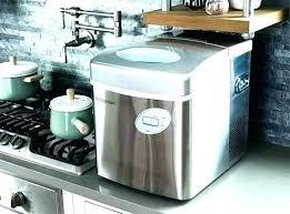nugget ice makers pellet machine under cabinet maker 5 equipment