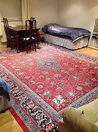 large 310 x 390 john lewis red pink blue cream asian rug cash on collect ig10