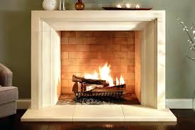 modern artificial fireplace mid century faux contemporary stone