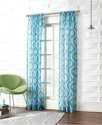 curtain bathroom ideas bright colored shower smlf