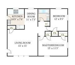2 bedroom 1 bathroom sq ft apartment floor plans pdf full size
