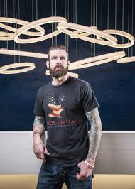 """How did burn-care advocate Ryan """"Birdman"""" Parrott get his nickname? A  fireball shot the former Navy SEAL out of a Hummer. - Preston Hollow"""
