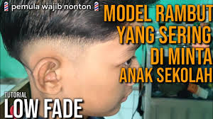 Model potongan rambut pria mandarin sobfashion kumpulan potongan rambut mandarin pria populer keren 2019. Cara Potong Rambut 2 Jari Paling Mudah Tutorial Low Fade Model Rambut Anak Sekolah Youtube