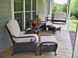Patio, Front Porch Furniture Sets Patio Furniture Clearance Sale Long Sofa  Vases Flower Grass: