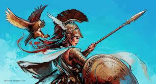 Athena Athena афина богиня греческая мифология и тату
