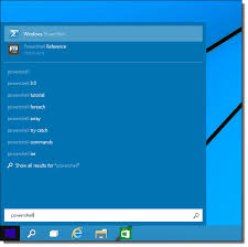 Powershell Windows Start Powershell Ise In Windows 10 4sysops